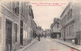 ¤¤  -  NOGENT-sur-SEINE   -  L'Hôtel De Ville Et Grande Rue Saint-Laurent      -  ¤¤ - Nogent-sur-Seine