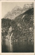Ansichtskarte Schönau Am Königssee Königssee Mit Schrainbachfall 1929 - Deutschland