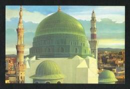 Saudi Arabia Picture Postcard Holy Mosque Medina Madina  Islamic View Card - Saudi Arabia