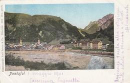 11371-PONTEBBA-PONTAFEL(UDINE)-1901-FP - Udine