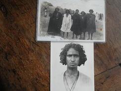 2 CP SOUDAN MAURITANIE - Types Maures Cartes Photos. - Mauritania