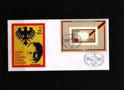 Germany / Deutschland 1974 Walter Scheel - Cartas