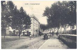 Cpa Alès - Avenue Carnot - Alès