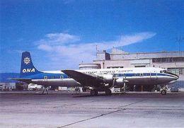 Aviation Postcard-115 ONA Douglas DC-7 - 1946-....: Moderne