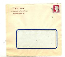 Devant De Lettre Cachet Annulation Haut-rhin - Postmark Collection (Covers)
