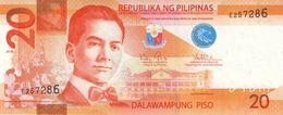 Philippines P.206  20 Piso   2010   Unc - Filippine