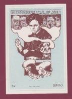 291217 VIEUX PAPIERS - EX LIBRIS Art Nouveau FRIEDRICH ADLER Physicien Homme Politique Socialiste Autrichien  KK - Ex-libris
