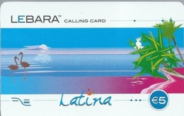 ES.- Telefonica De Espana. LEBARA CALLING CARD. LATINA. € 5. - Andere