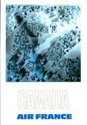 Air France Canada - Reproduction De L'affiche De Raymond Pagès, 1971 - 1946-....: Ere Moderne