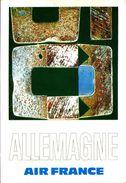 Air France Allemagne - Reproduction De L'affiche De Raymond Pagès, 1971 - 1946-....: Ere Moderne