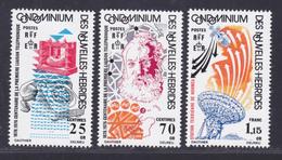 NOUVELLES-HEBRIDES N°  426 à 428 ** MNH Neufs Sans Charnière,  TB  (D3636) Cosmos, Liaison Téléphonique - Unused Stamps