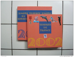 LE LIVRE DES TIMBRES FRANCE 2002  Sans Timbres - Timbres