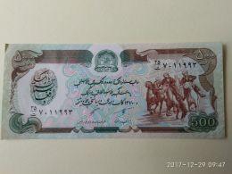 500 Afgani 1979 - Afghanistan