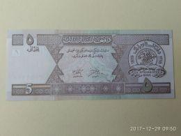 5 Afgani 2002 - Afghanistan