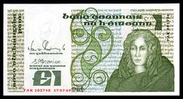 République IRLANDE - 1 Pound - 1989 - UNC - Ireland