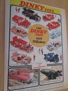 DINKY TOYS : MODELES EN COULEURS  Pour  Collectionneurs .. PUBLICITE  ; Format : PAGE A4 - Dinky