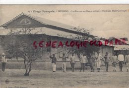 AFRIQUE- CONGO - IMFONDO- LES RECRUES AU CAMP MILITAIRE D' IMFONDO HAUT OUBANGHI - Congo - Brazzaville