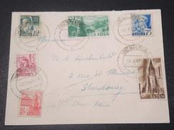 ALLEMAGNE - Enveloppe De Waldshut Pour Strasbourg En 1947 , Affranchissement Superbe - L 10913 - Zone Française