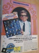 Pour  Collectionneurs .. PUBLICITE  ; Format :  PAGE A4 / FROMAGE BLEUETTE PIECES DE MONNAIES Cadeaux Publicitaires - Monnaies