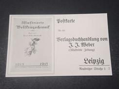 ALLEMAGNE - Carte Illustrée En 1914/15 Non Voyagé - L 10915 - Allemagne