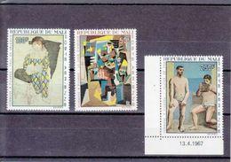 MICHEL NUM 146-148** - HOMMAGE A PICASSO - COTE 11 EURO - Mali (1959-...)