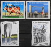 FRANCE 2013 - Le N° 4729 - Et Les 4734 à 4736 - 4 TIMBRES NEUFS** - France