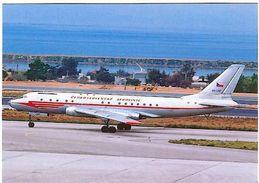 Aviation Postcard-151 CSA  Tupolev TU-104 OK-LDC - 1946-....: Moderne