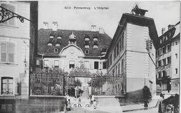 PORRENTRUY → L'Hopital / Spital Mit Spielenden Kindern, Ca.1910 - JU Jura