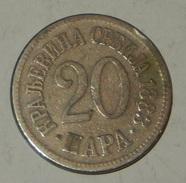 SERBIA – 20 Para – 1883 – (57) - Serbia