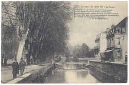 Cpa Brive - Le Canal ( Tampon Hôpital Temporaire N° 23 Tulle Au Verso ) - Brive La Gaillarde