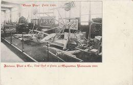 "CPA Adriance / PLATT & Co. / ""Grand Prix"" Paris 1900 / New York USA /Paris / Exposition Universelle/Machines Agricoles ? - Postmark Collection (Covers)"