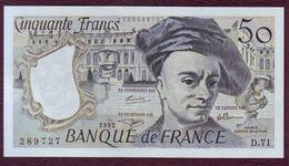 50 FRANCS Quentin De La Tour Type 1976 - 1992 - UNC / NEUF - 50 F 1976-1992 ''Quentin De La Tour''