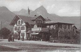 GISWIL → Giswyl Mit Hotel Bahnhof Anno 1910   ►RRR◄ - OW Obwalden