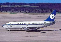 Aviation Postcard-155 SABENA Belgian World Airlines Boeing 737 - 1946-....: Moderne