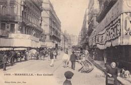 13 / MARSEILLE / RUE COLBERT/ GILETTA 1868 / TRES BELLE - Marseilles
