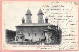Biserica Sf. Adormire Mr. Varatic Renovata Dupa Incendiul 1900 - Moldavie