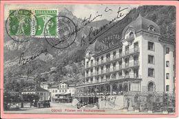 Flüelen Mit Rophaienstock Grand Hotel Adler - UR Uri