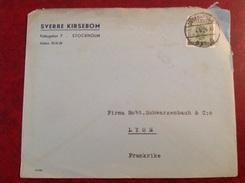 Stockholm Pour Lyon Sverre Kirsebom - 1930- ... Coil Stamps II