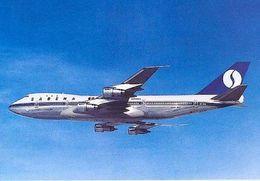 Aviation Postcard-163 SABENA Belgian World Airlines B-747 OO-SGB - 1946-....: Moderne