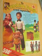 Pour  Collectionneurs  PUBLICITE 60/70 ; Format :  Page A4 POUPEE SUNSHINE FAMILY - Other