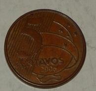 BRASILE – 5 CENTAVOS – 2006 – (65) - Brazil