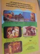Pour  Collectionneurs  PUBLICITE 60/70 ; Format :  Page A4 POUPEE SUNSHINE FAMILY ACCESSOIRES - Other Collections