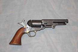 Colt PIETTA   Modèl 1851 Navy Yank Acier Cal 36 - Militaria