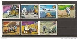 Paraguay - Serie Completa Nuova: Missioni Apollo - Space
