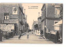 CPA 14 Langrune Rue De La Mer - France