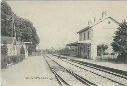 Territoire De Belfort, Grandvillars, La Gare - Grandvillars