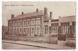 CPA CPSM Oise 60  Coudun La Mairie Et Les écoles Près De Compiègne Monchy Humières Thourotte Choisy-au-Bac Clairoix - Autres Communes