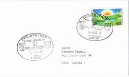 26825. Carta ZWEIBRUCKEN (Alemania Federal) 1980.  Jumelage Bologne Sur Mer - [7] República Federal