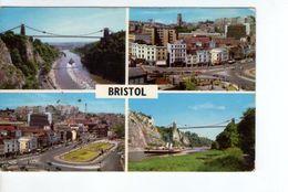 U1232 Small Postcard: > Bristol, Multiew + NAVE NAVY NAVI SHIP BATEAU _ Writed 1971 - Bristol