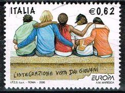 Italien 2006, Michel# 3119 O     Europa (C.E.P.T.): Boys Of Various Races - 6. 1946-.. Republik